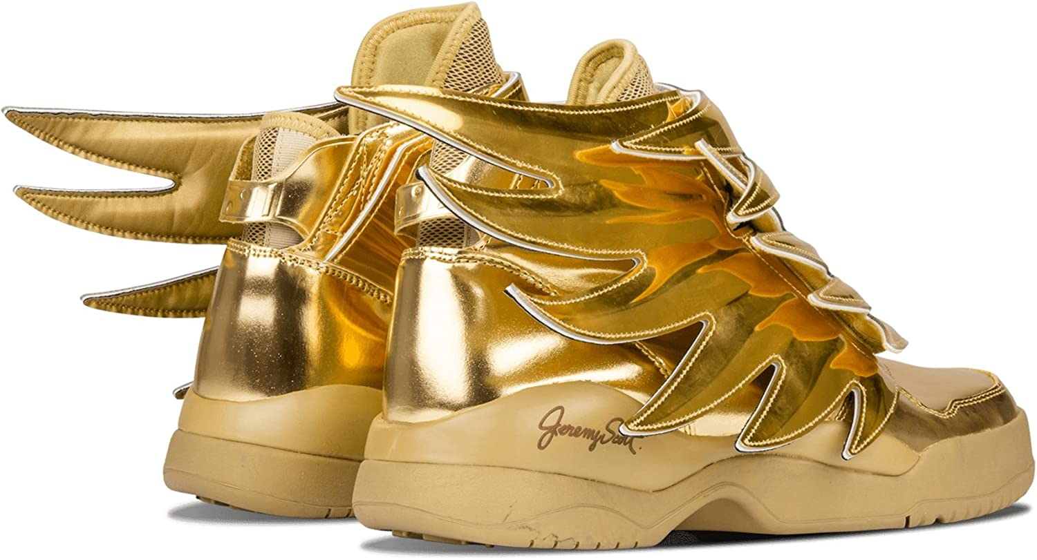 Adidas Js Wings 3 0 Gold B35651 Size 8 5 Amazon Co Uk Shoes Bags