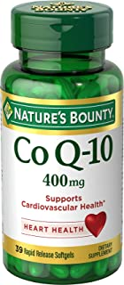Nature's Bounty Cardio Q10, Co Q-10 400 mg Softgels 39 ea