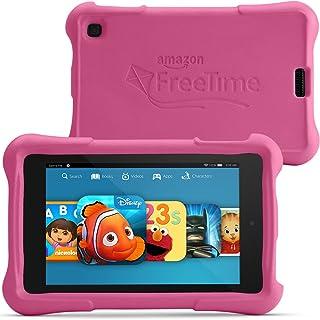 """Fire HD 6 Kids Edition Tablet, 6"""" HD Display, Wi-Fi, 8 GB, Pink Kid-Proof Case"""