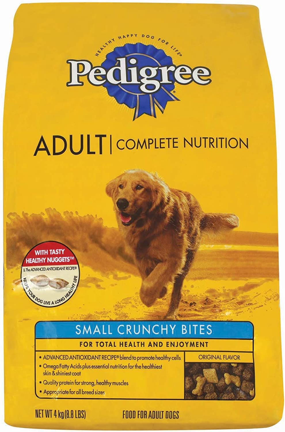 PEDIGREE 20 Lb Small Beef Bites Complete Nutrition