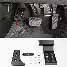 WMPHE Compatible with Left Side Foot Rest Pedal Left Foot Adjustable Rest Pedal Jeep Wrangler JL Jeep Gladiator JT Truck 2018-2020