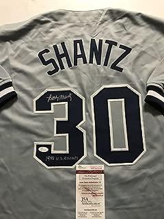 Autographed/Signed Bobby Shantz