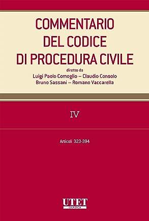 Commentario al codice di procedura civile - vol. 4
