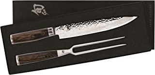 Shun TDMS0200 Premier 2-Piece Carving Knife Boxed Set, Silver