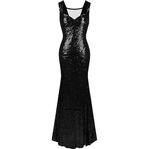 Black Sequin Dress Amazon