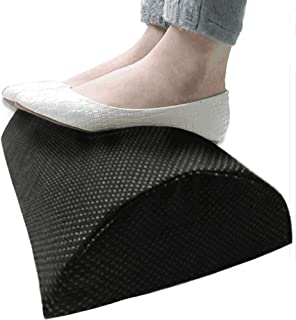 Foot Rest Under Desk,Soft Foam Footrest with Massaging Micro Beads for Office, Home, Plane, Most Comfortable Desk Foot Res...