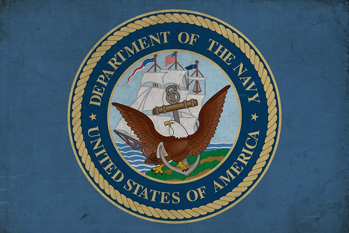 Department Of The Navy Military Insignia 16x24 Giclee Gallery Print Wall Decor Travel Poster