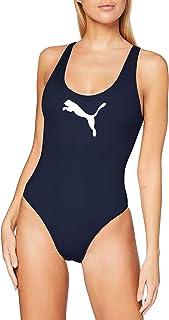 PUMA Women's Swimsuit Bañador de una Pieza para Mujer
