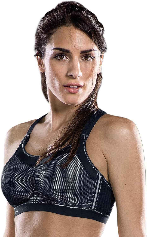 Anita Womens Active Momentum Pro Wire Free Sports Bra 5539