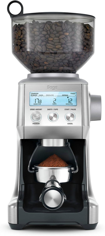 Geb/ürsteter Edelstahl Sage Appliances SCG820 the Smart Grinder Pro Kaffeem/ühle