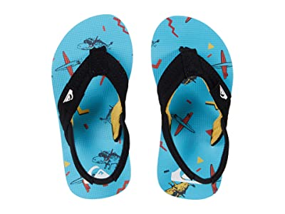 Quiksilver Kids Molokai Layback (Toddler) (Blue/Blue/Black) Boys Shoes