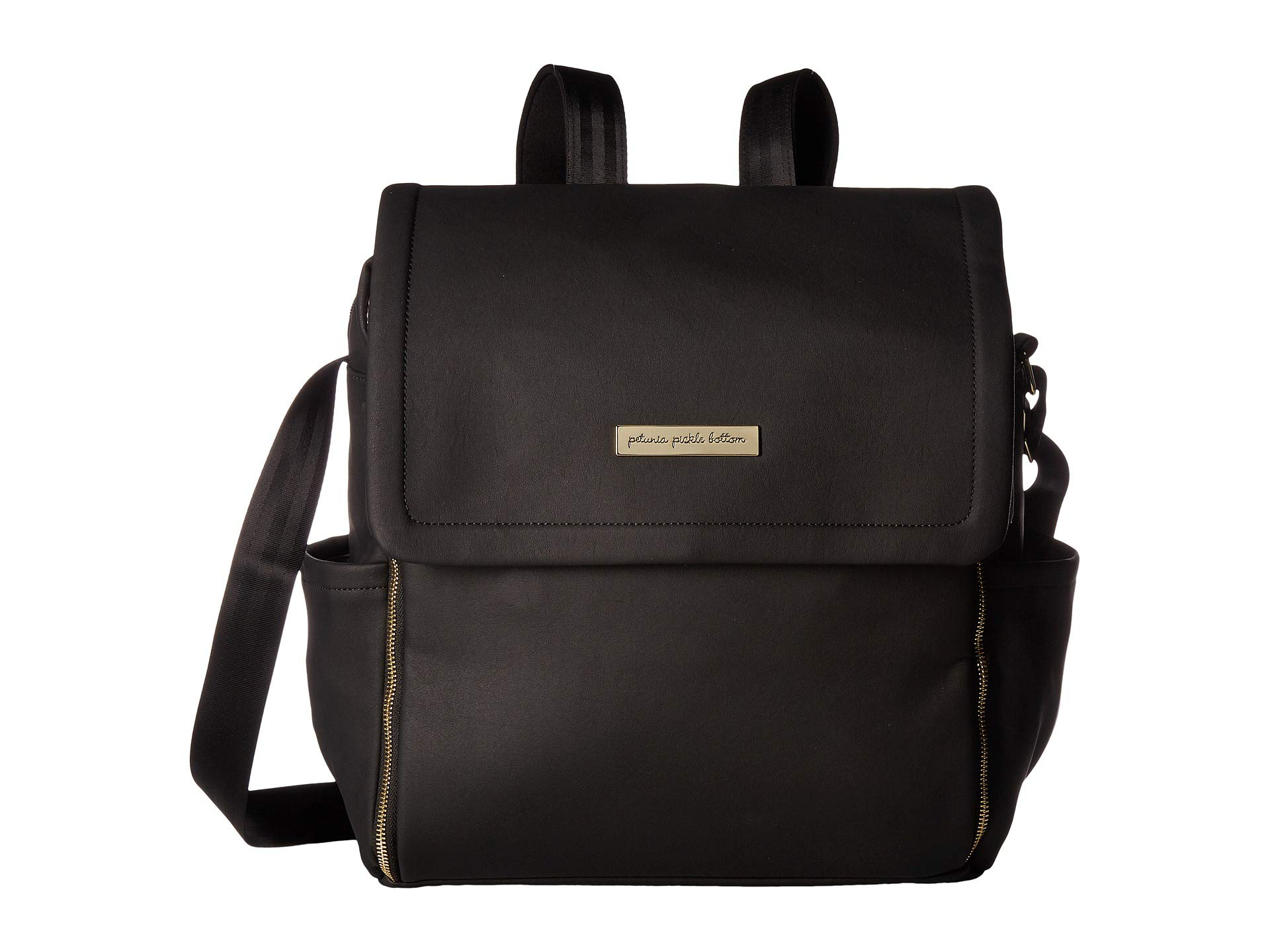 Petunia Bottom Pickle Boxy Black Matte Backpack Leatherette r5rvq7