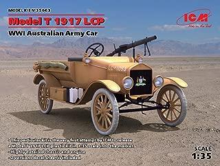 PLASTIC MODEL BUILDING KIT CAR MODEL T 1917 LCP, WWI AUSTRALIAN ARMY CAR 1/35 ICM 35663
