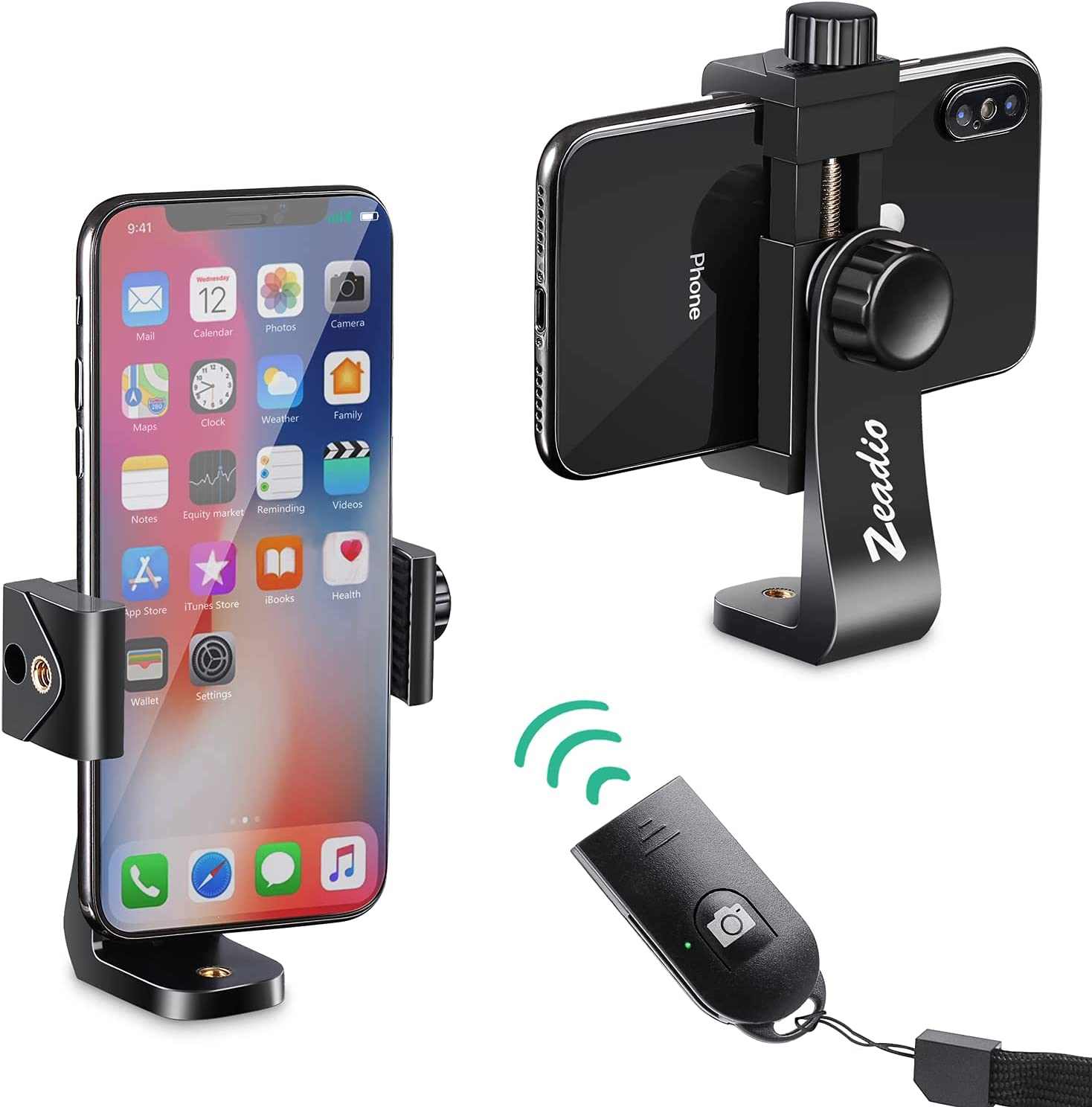 In a popularity Zeadio Smartphone Tripod Mount Adapter Phone Max 80% OFF Holder Cell