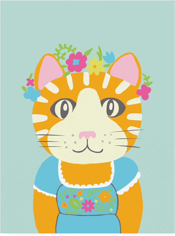 Trademark Fine Art WAG16377C1419GG Fancy Animals II by Chariklia Zarris, 14x19