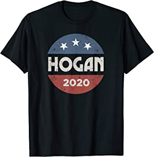 Larry Hogan 2020 for president Campaign Election Tee Shirt