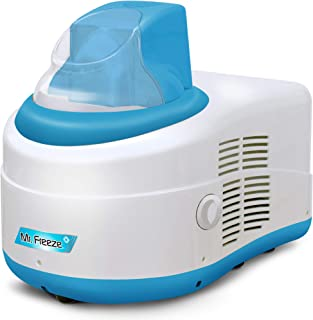 Maxi-Matic Mr. Freeze EIM-550BL 1.5 Quart Ice Cream Maker with Compressor, Blue
