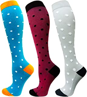 Compression Socks (20-30mmHg) For Women&Men - Best for Running,Travel,Cycling,Pregnant