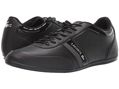 Lacoste Storda Sport 419 1 U (Black/Dark Grey) Men