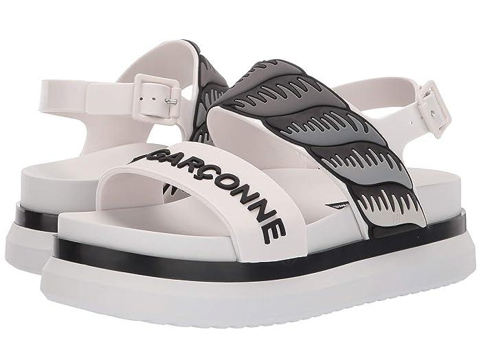 x A La Garconne Cosmic Sandal II White