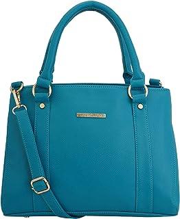 Lapis O Lupo Women's Handbag (LLHB0013TQ_Turquoise)