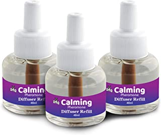 Talis Calming Pheromone Diffuser Refill 3-Pack Reduce Anxiety, Scratching, Spraying in Dogs and Cats Calm Formula of Pet B...