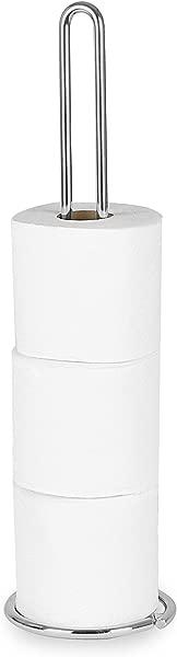Spectrum Diversified Euro Toilet Tissue Reserve Toilet Paper Holder Toilet Roll Holder Chrome