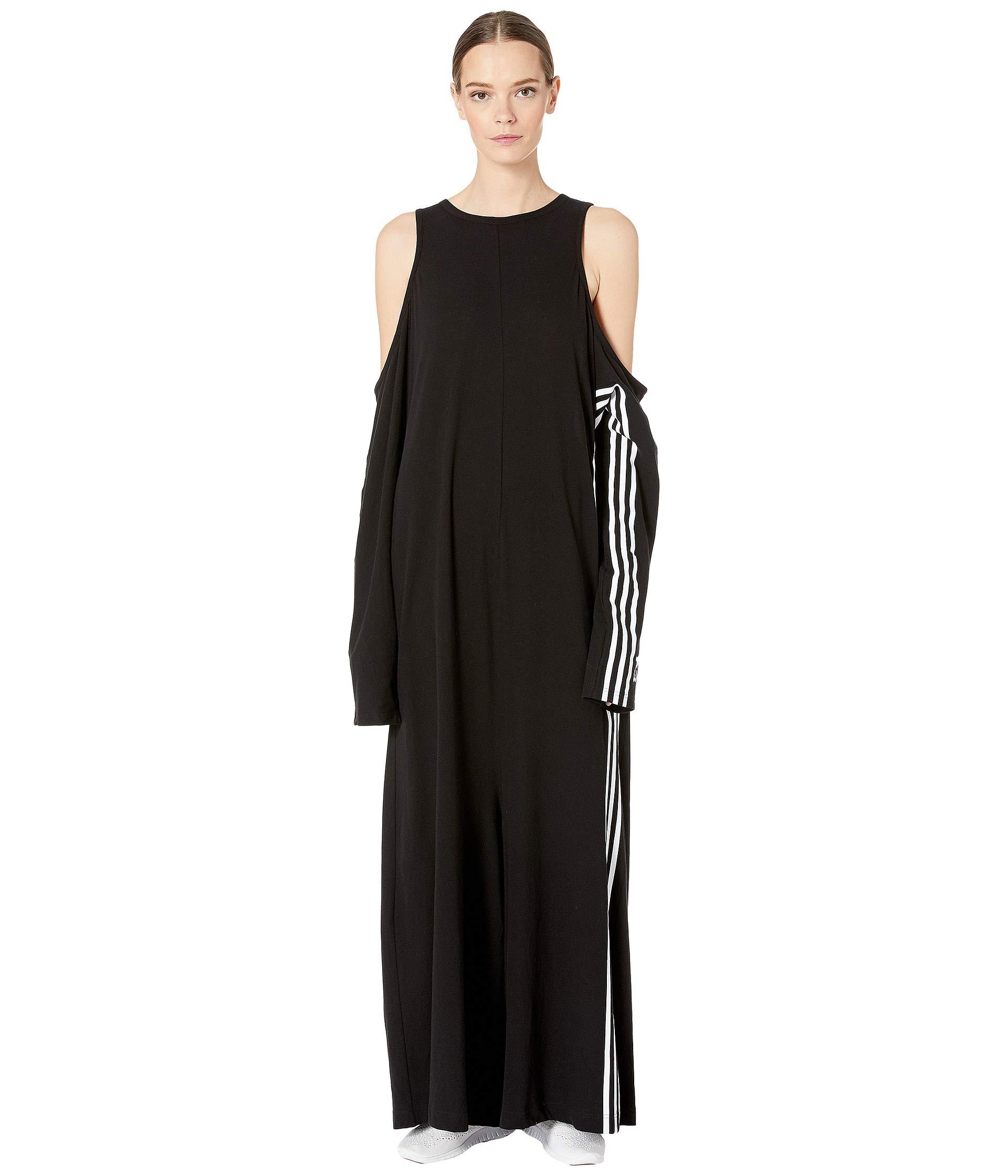 Y By Black Yohji 3 Crepe Yamamoto Jumpsuit Jersey Adidas 1xFpwvqx