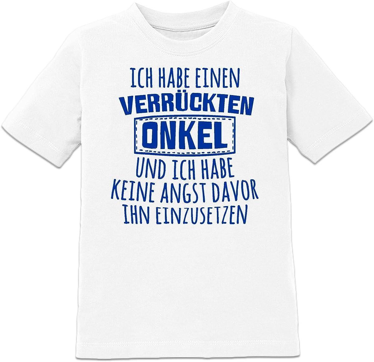Shirtcity Ich Habe Einen Verr/ückten Opa Baby Strampler by
