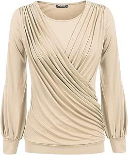Best ladies khaki tops and blouses Reviews