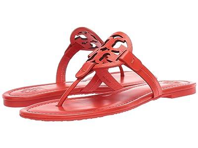 Tory Burch Miller Flip Flop Sandal (Bright Pomander/Bright Pomander) Women