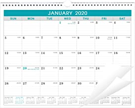 2020 Calendar - 12 Monthly Wall Calendar with Julian Date, Thick Paper Perfect for Organizing & Planning, Jamuary 2020 - December 2020, 11.5 x 15 Inches, Wire-Bound