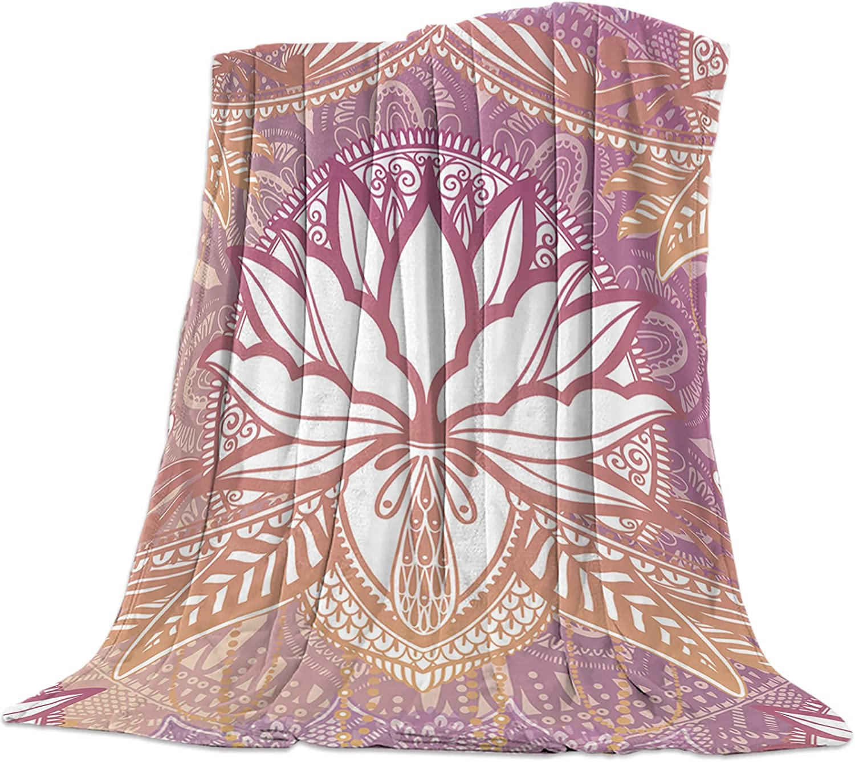KAROLA Fleece Omaha Mall Blanket Super intense SALE Flannel Bed Soft L Cozy Microfiber