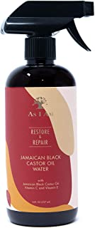 As I Am JBCO Water - 16 ounce - Nano Curl Strengthener - Moisturizes and Detangles - Anti-Frizz - Increases Fiber Strength...