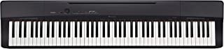 Casio Privia PX-160BK 88-Key Full Size Digital Piano with Power Supply, Black