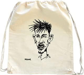 Tenacitee Living In Oregon with North Dakota Roots Grey Brushed Canvas Messenger Bag