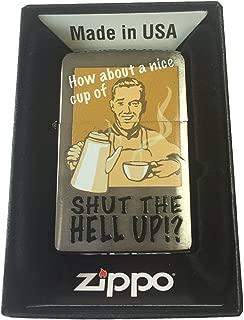 Zippo Custom Lighter - Nice Cup of