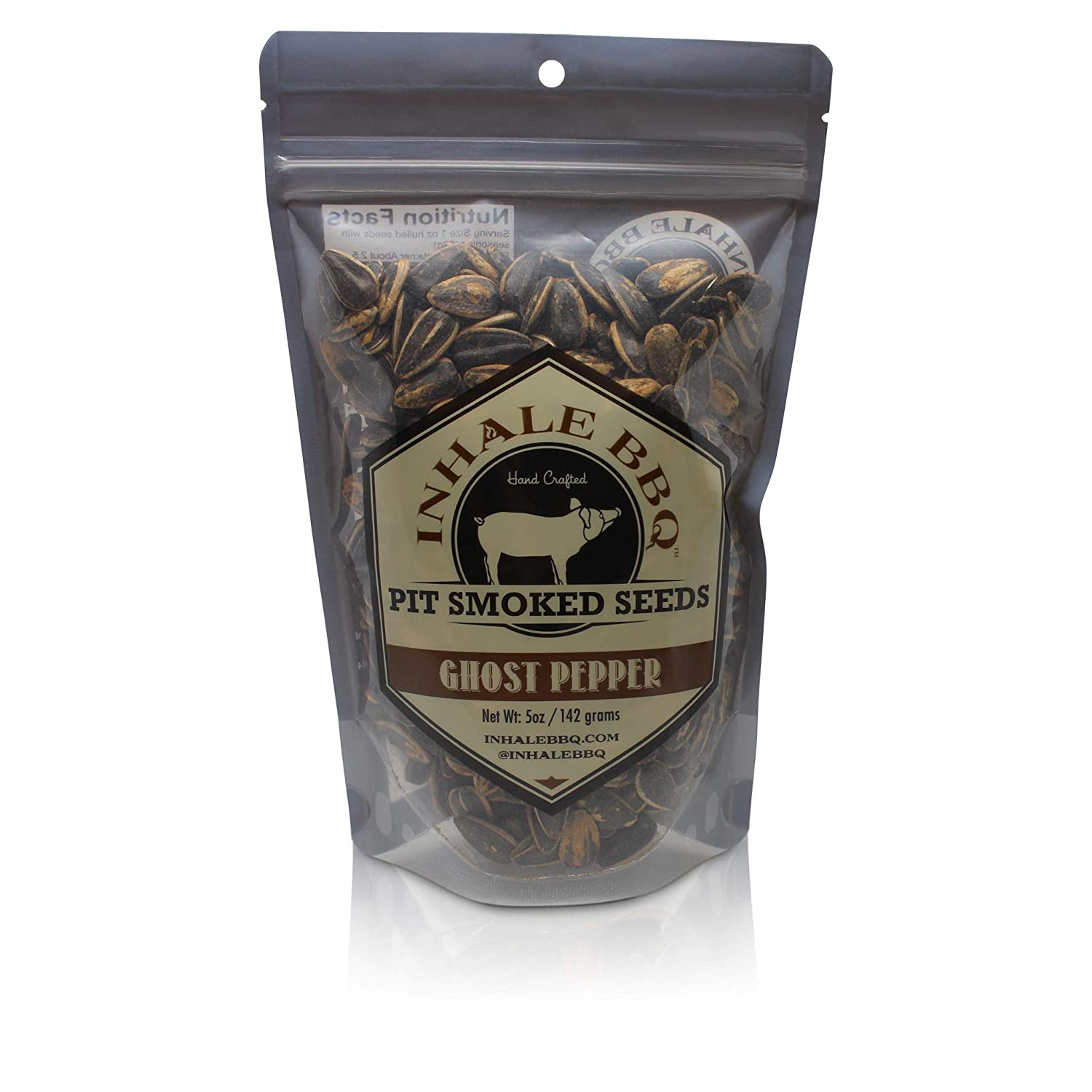 INHALE wholesale BBQ Cheap sale - Pit Smoked Ghost 2 Packs Seeds Pepper Sunflower