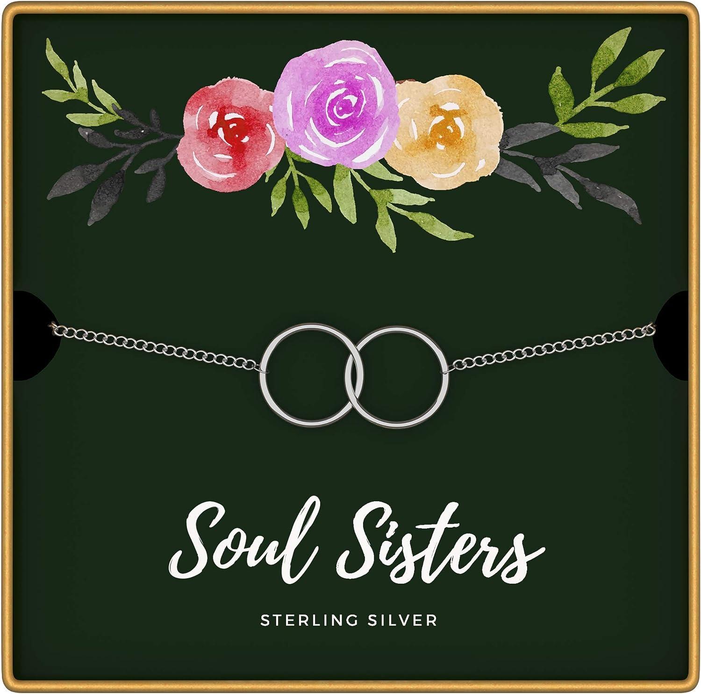 KEDRIAN Soul Sisters Bracelet, 925 Sterling Silver, Friendship B