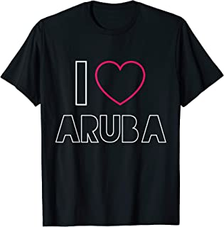 Best i love aruba t shirt Reviews