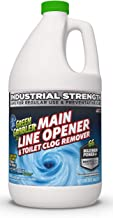 Green Gobbler Ultimate Main Drain Opener + Drain Cleaner + Hair Clog Remover - 64 oz (Main Lines, Sinks, Tubs, Toilets, Sh...