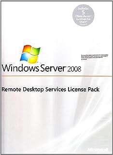Microsoft Windows remote desktop services 2008 r2 - licencia - 5 usuarios cal - win - inglés