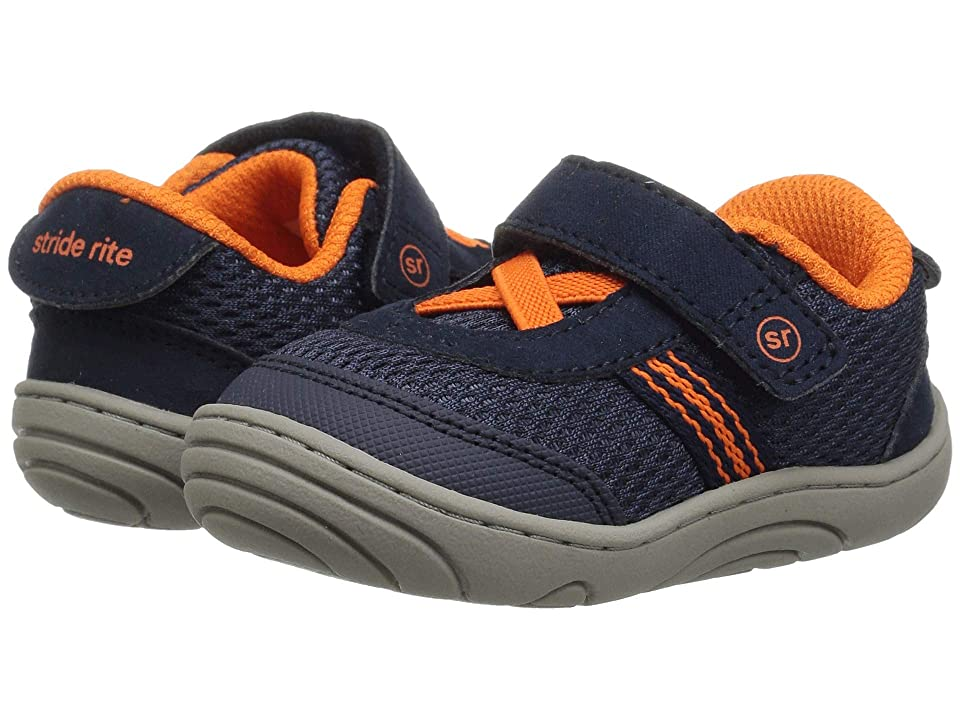 Stride Rite Jessie (Infant/Toddler) (Navy/Orange) Girl