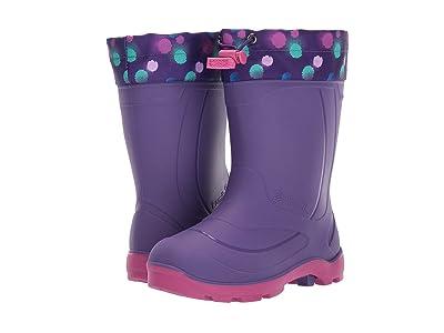 Kamik Kids Snobuster 2 (Toddler/Little Kid) (Purple/Teal) Girls Shoes