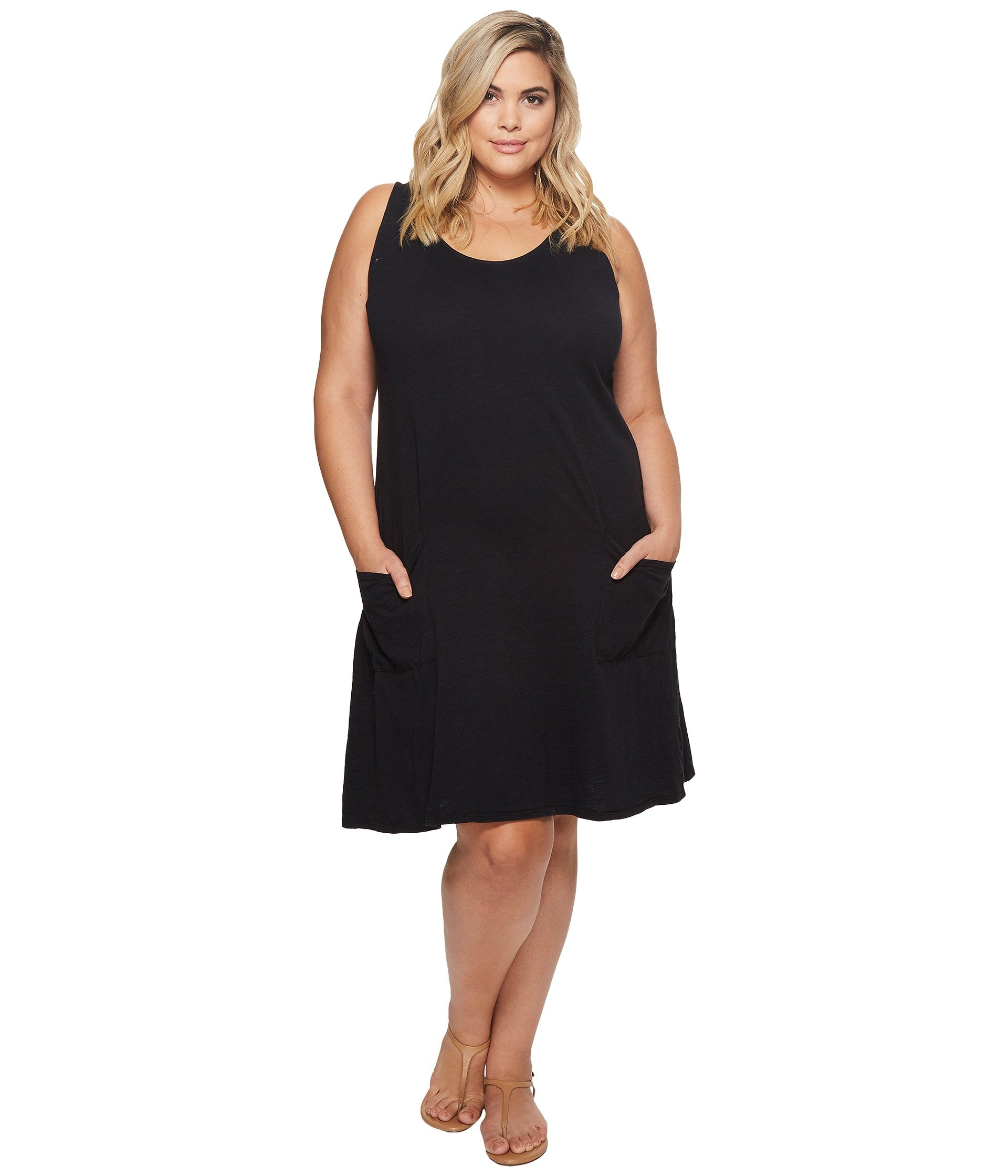 Produce Size Black Dress Fresh Plus Extra By Drape wqEOZ