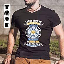 USA Leicester City Live In US Heart & Soul Belong To Leicester City FC T Shirt Long Sleeve Sweatshirt Hoodie for Man and Woman