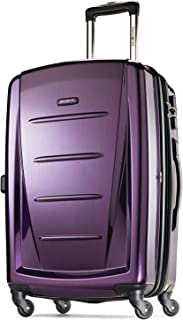 Samsonite Winfield 2 Hardside Luggage with Spinner Wheels, Purple, Carry-On 20-Inch