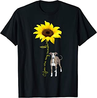 You Are My Sunshine Sunflower Greyhound Lover Mom shirt