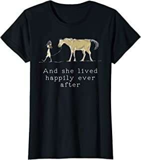 Funny Horse Shirt for Equestrian girl with Horse tee shirts