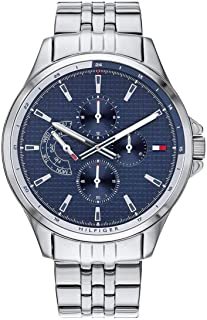 Tommy Hilfiger 1791612 Stainless Steel Round Analog Water Resistant Watch for Men - Silver